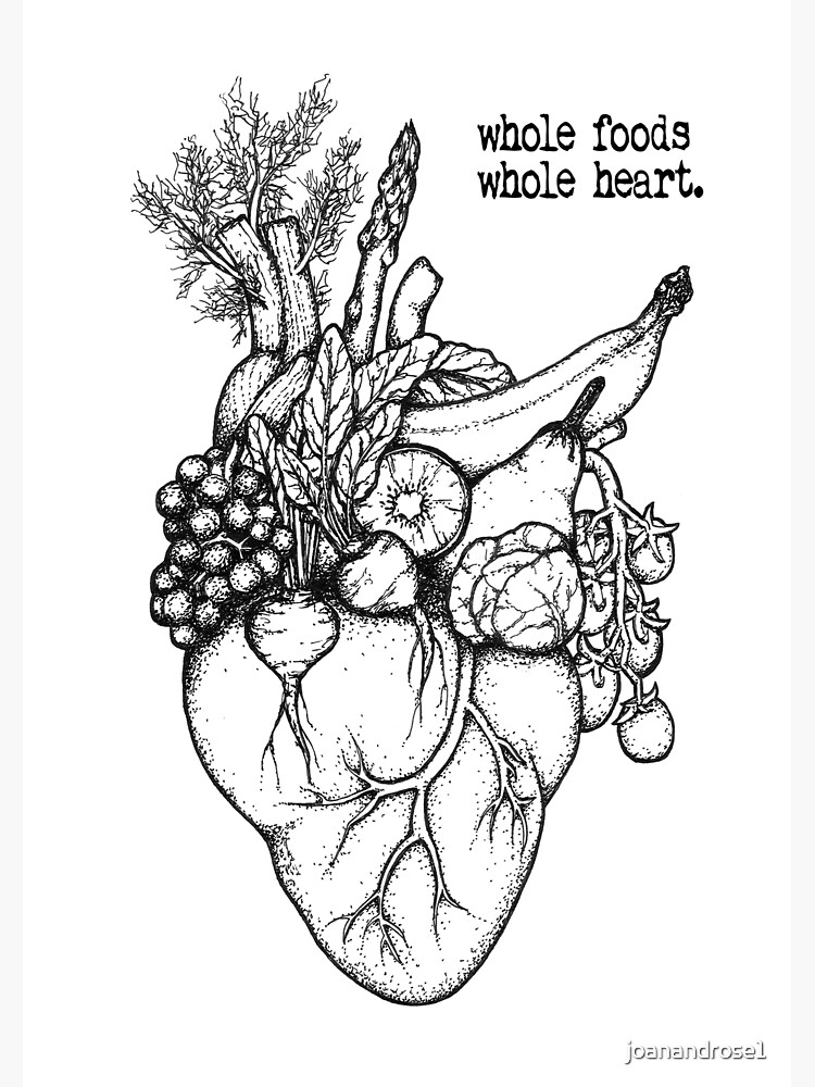 Whole Foods Whole Heart by joanandrose1