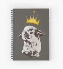 Grumpy Bunny Spiral Notebook