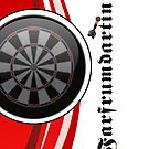 Farfrumdartin Darts Team by mydartshirts