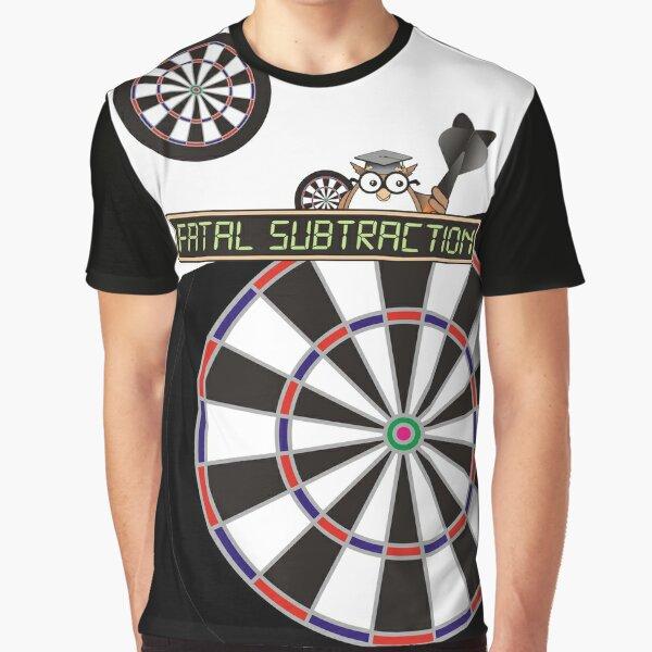Fatal Subtraction Darts Team Graphic T-Shirt