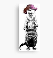 I Really Otter Be Going Now Metal Print