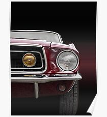 Mustang 1968 Poster