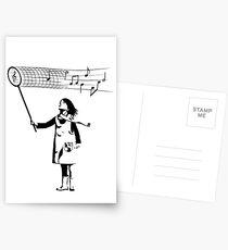 The Music Catcher Postcards