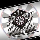 Flight Risk Darts Team by mydartshirts