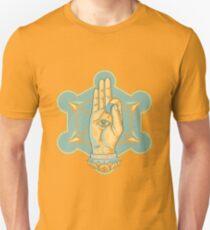 Guitar Player Hand Mystic Rock Mandala T-Shirt