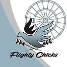 Flighty Chicks Darts Team by mydartshirts