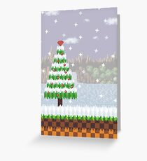 Green Hill Christmas Greeting Card