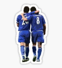 Terry and Lampard Artwork Sticker