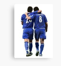 Terry and Lampard Artwork Canvas Print