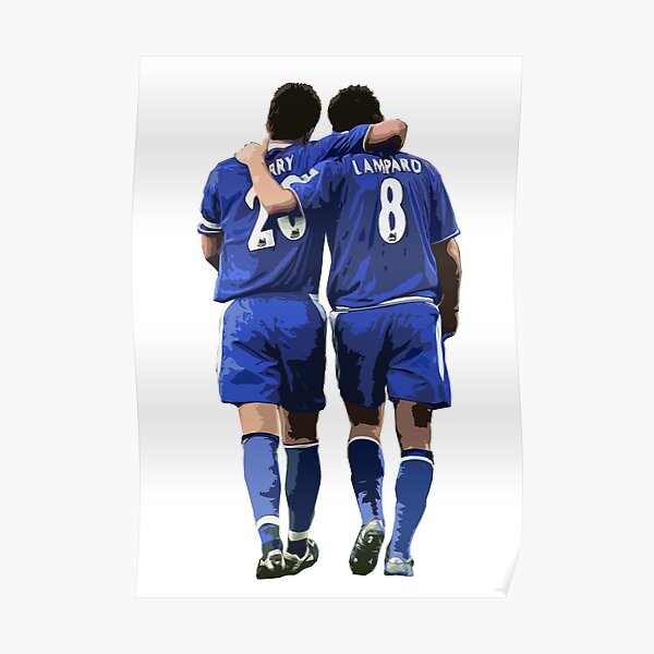 Terry and Lampard Artwork Poster