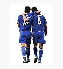 Terry and Lampard Artwork Photographic Print