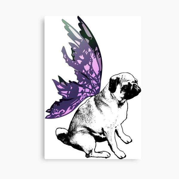 Pug Fairy Life Canvas Print