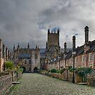Vicars Close. Wells, England by Ann Garrett
