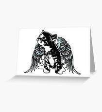 Angel Kitty Greeting Card