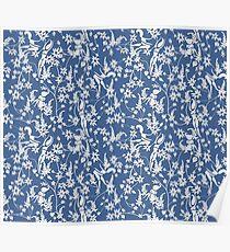 Matisse inspired Papercut Garden Poster