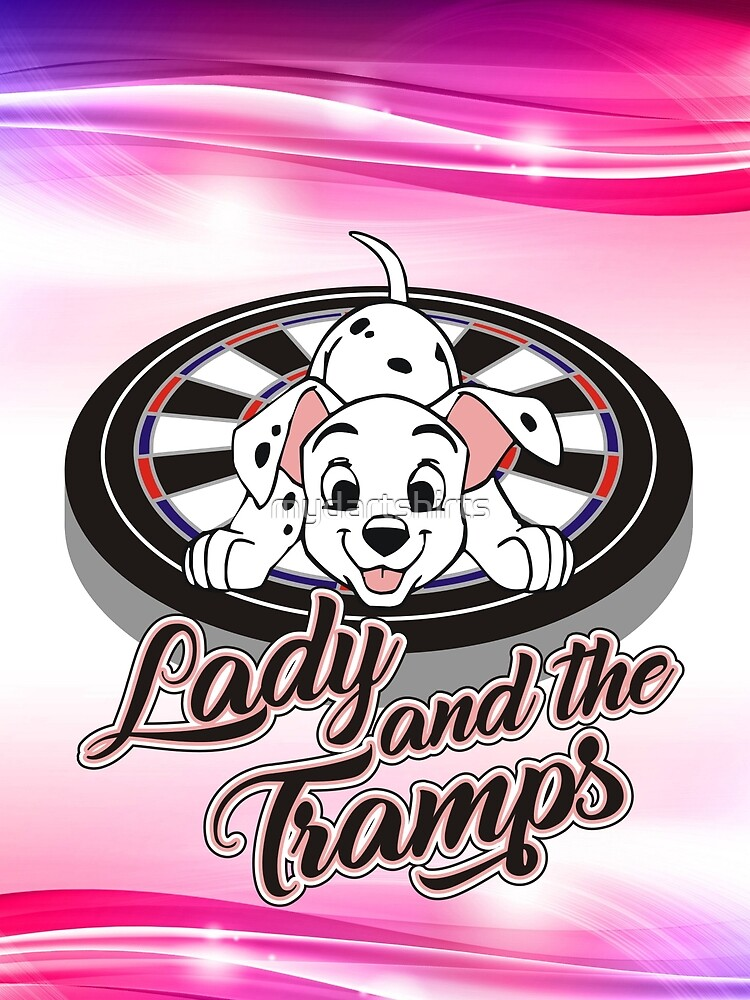 Ladies, Triples And Tramps Darts Team by mydartshirts