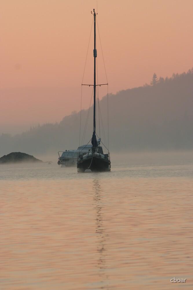 Sunrise half mast by cboar