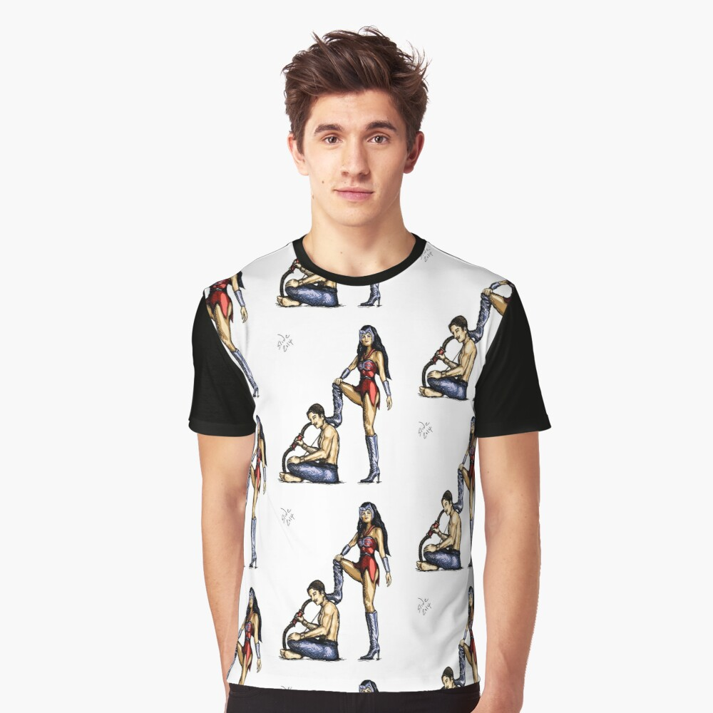Catra and Bow, 2014 Graphic T-Shirt