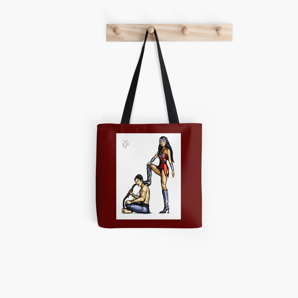 Catra and Bow, 2014 Tote Bag