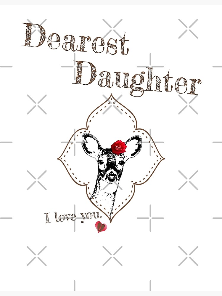 Deer Elder Daughter - I love my dear family by LittleMissTyne