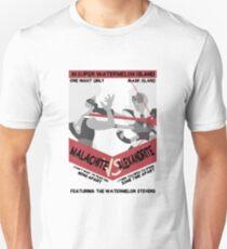 Malachite vs Alexandrite grey scale Unisex T-Shirt
