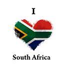 I Love South Africa by KarimStudio