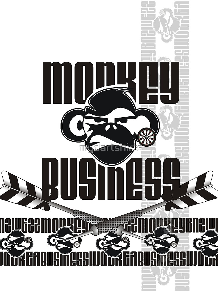 Monkey Business Darts Team by mydartshirts