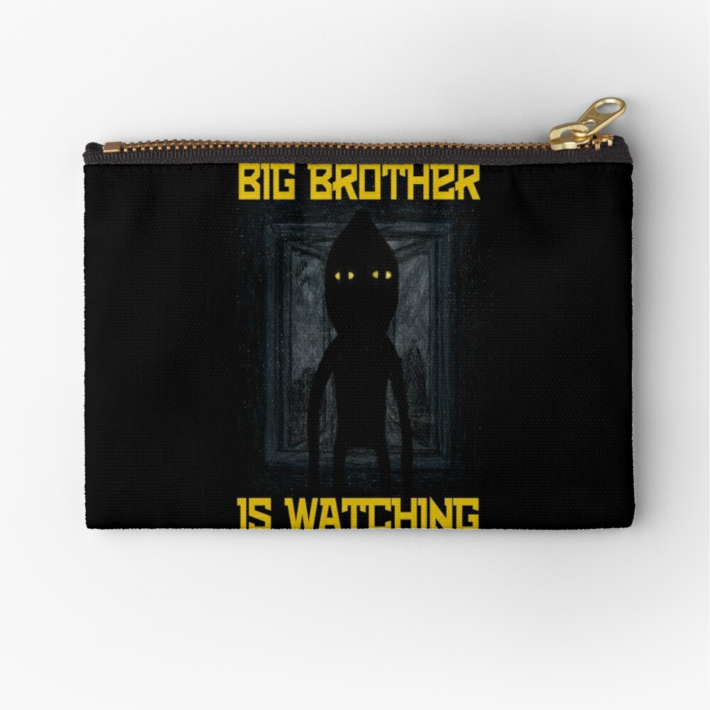 """Big Brother"" Zipper Pouch"