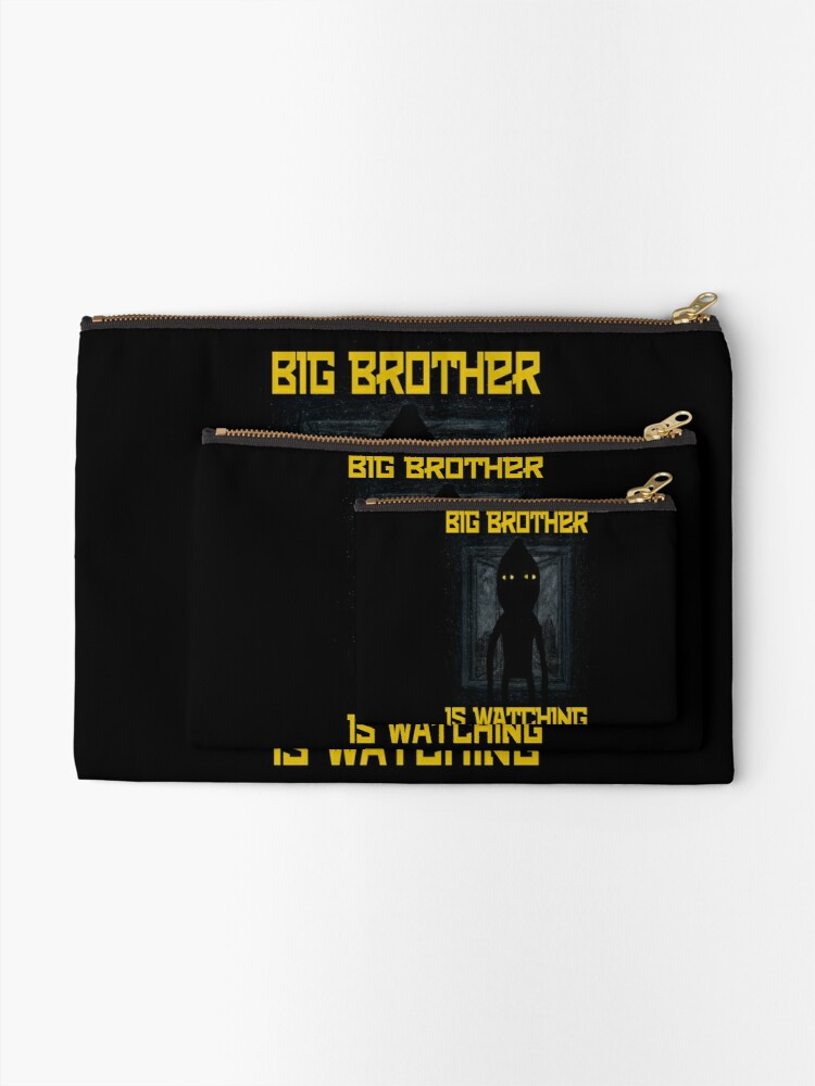 """Alternate view of """"Big Brother"""" Zipper Pouch"""