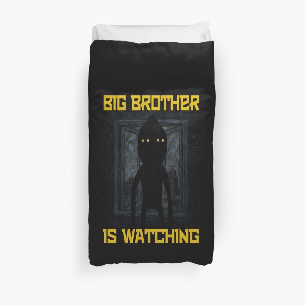 """Big Brother"" Duvet Cover"