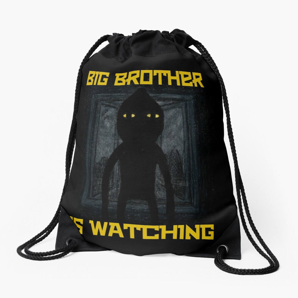 """Big Brother"" Drawstring Bag"