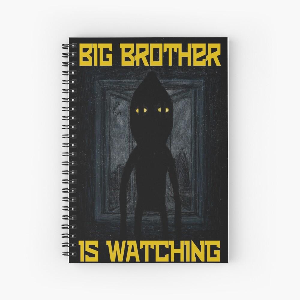 """Big Brother"" Spiral Notebook"
