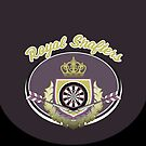 Royal Shafters Darts Team by mydartshirts
