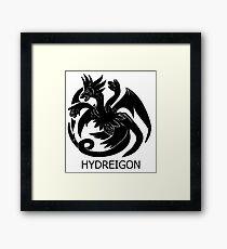 Targaryen Hydreigon Framed Print