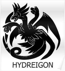 Targaryen Hydreigon Poster