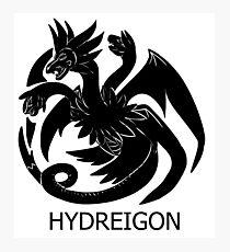Targaryen Hydreigon Photographic Print