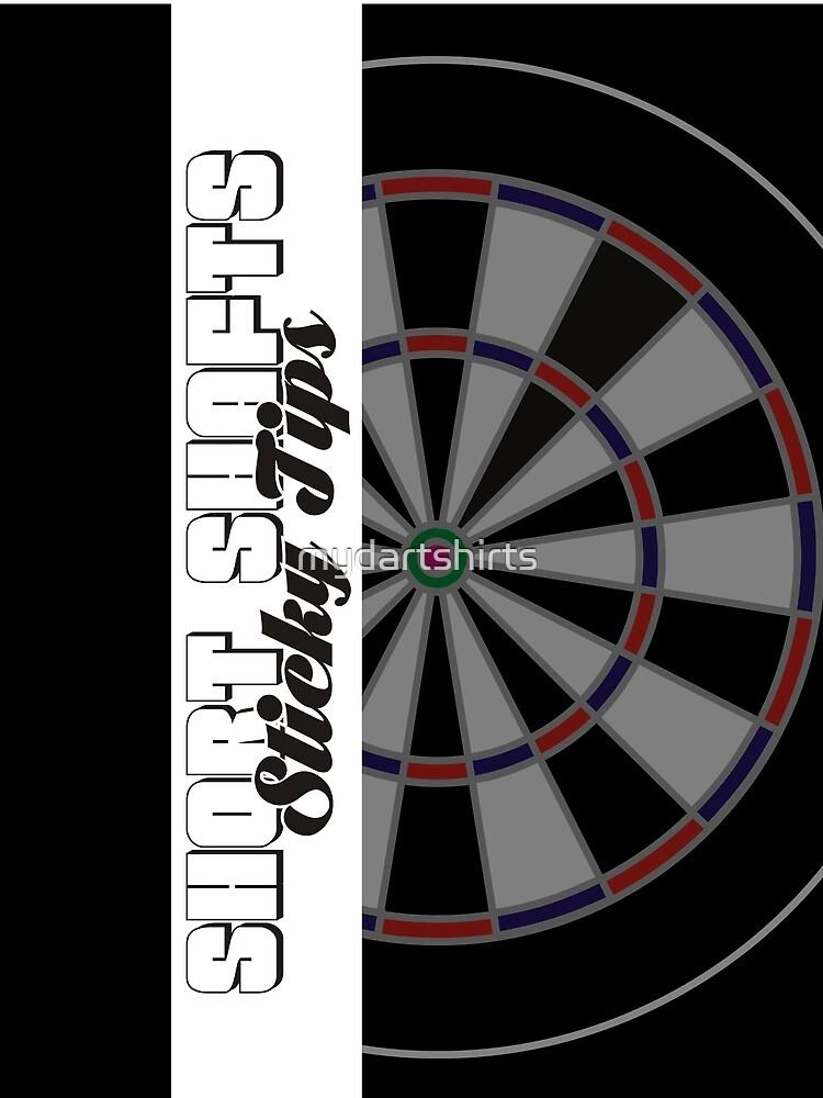 Short Shafts Sticky Tips Darts Team by mydartshirts