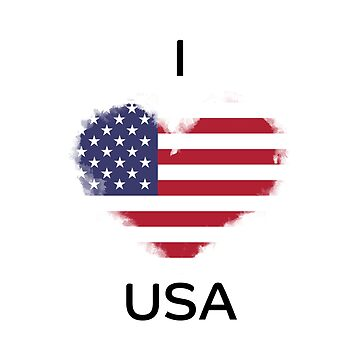 I Love USA by KarimStudio