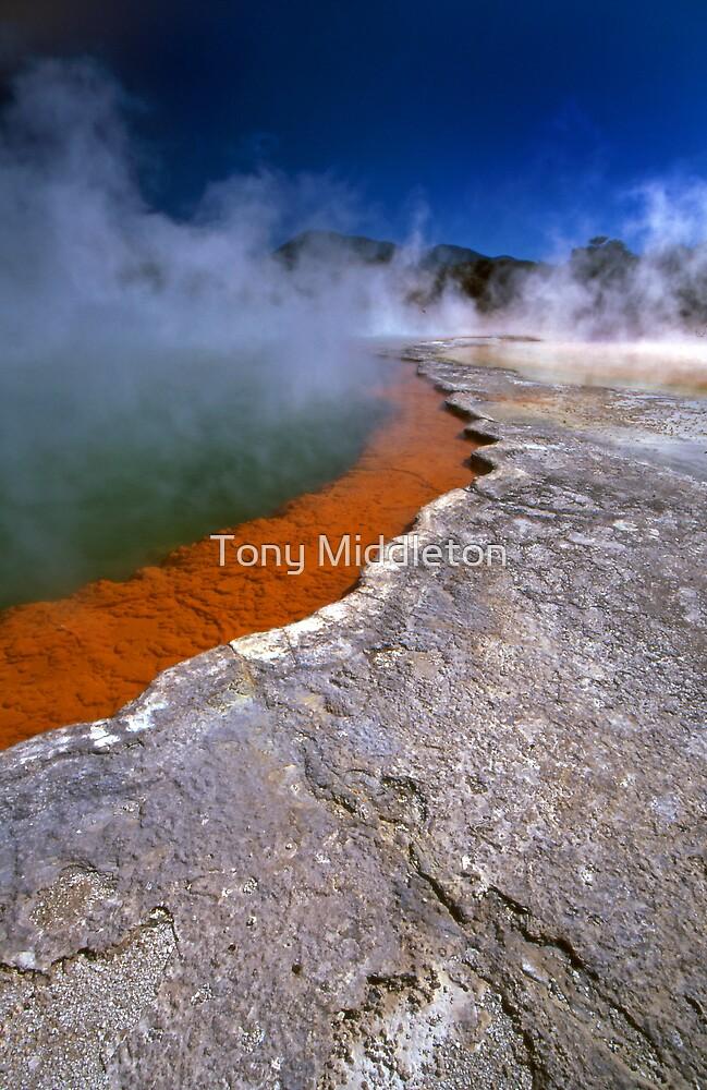 Wai-O-Tapu wonderland by Tony Middleton