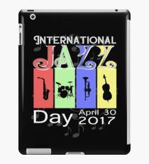 International Jazz Day 2017 iPad Case/Skin