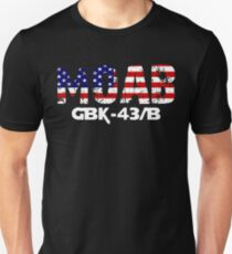 MOAB Mother Of All Bombs Massive Ordnance Air Blast Unisex T-Shirt