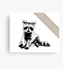 Raccoon - Critter Love Collection 6 of 6 Metal Print