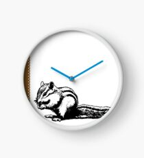 Chipmunk - Critter Love Collection 4 of 6 Clock