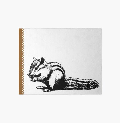 Chipmunk - Critter Love Collection 4 of 6 Art Board
