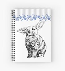 Bunny - Critter Love Collection 3 of 6 Spiral Notebook