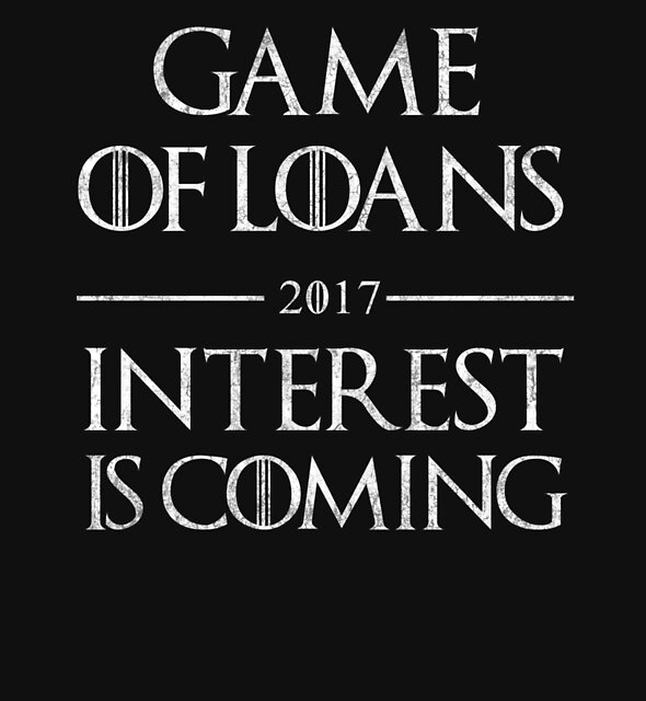 Game Of Loans Funny Graduation by melindad26