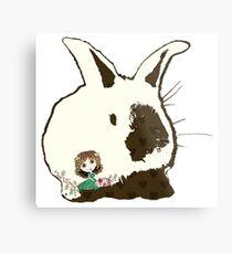 Bunny Love Metal Print