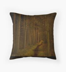 Tall Trees Throw Pillow