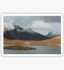 Mountains from Knockan Crag  Sticker
