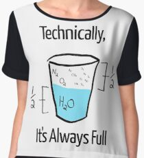 Science is Optimistic Chiffon Top